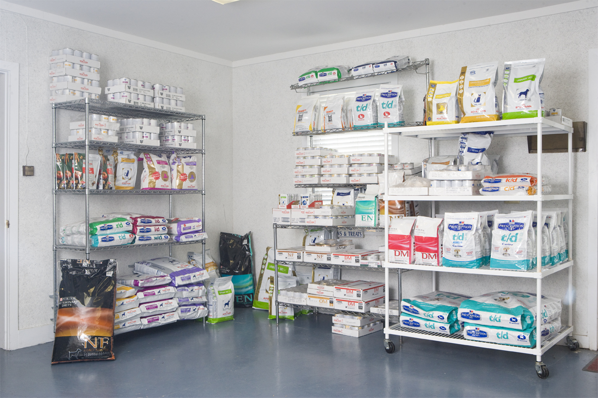 Pet Products Room